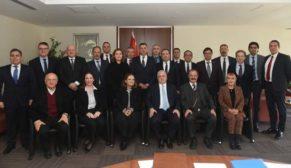 TÇMB 62. Genel Kurulu yapıldı, yeni dönemde başkan Tamer Saka