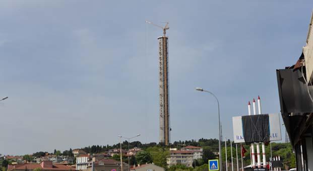 Küçük Çamlıva TV – Radyo Kulesi TeknoVinç ile sona geldi