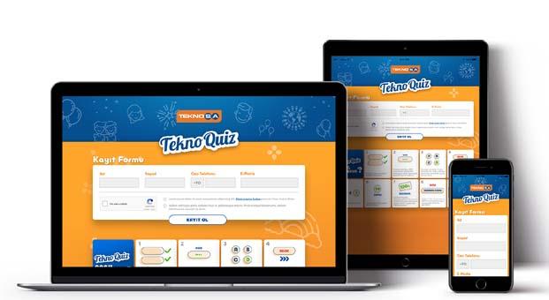 Teknosa'dan kazandıran bilgi yarışması