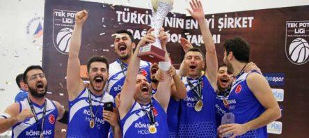 Tek Pota Ligi Türkiye ŞampiyonuRönesans Holding