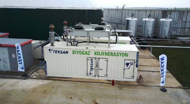 Teksan kojenerasyon sistemi ile G.Antep'te hayvansal atıklar ısı ve elektriğe dönüşüyor