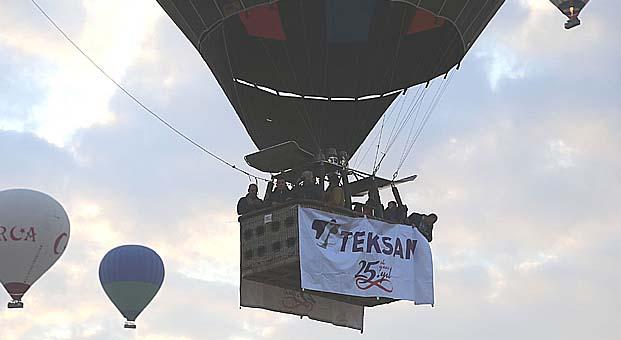 TEKSAN 25. yılını iş ortakları ile Kapadokya'da kutladı