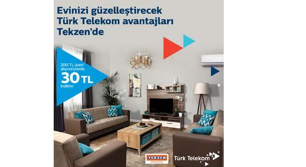 Tekzen 'den Türk Telekom müşterilerine özel kampanya