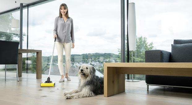 Kärcher'den evcil hayvan besleyenlere pratik temizlik yardımcısı:Kärcher KB 5