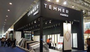 Temmer, Marble İzmir Fuarında yeni taşı PANTERA BIANCA'yı tanıtıyor