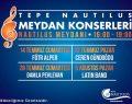 Tepe Nautilus, İstanbul'un tam kalbinde misafirlerine müzik ziyafeti sunmaya devam ediyor