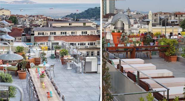 İstanbul'a tepeden bakan mekan: İstiklal Terrace kapılarını açtı