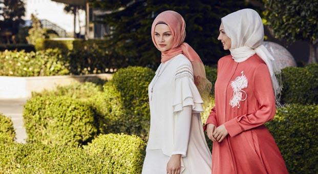 Tesettür modada yükselen trend: Floral tasarımlar