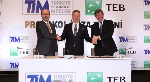 TEB ve TİM'den ihracat seferberliğine destek