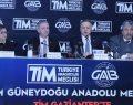 TİM Türkiye Turnesi İstişare Buluşmalarının ilkini Gaziantep'te gerçekleştirdi
