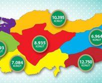 TOKİ 2017'de 65 bin sosyal konut inşa edecek