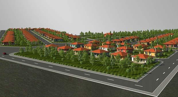 Afyonkarahisar Sinanpaşa'ya 100 adet tarımköy konutu