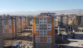 TOKİ'nin Erzurum Palandöken'e yapacağı 114 konut için 1827 başvuru
