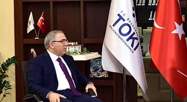 TOKİ Başkanı: İstanbul'da bu yıl 3 bin 500-4 bin konut arz edeceğiz