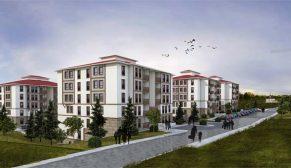 TOKİ Burdur Gölhisar'a yöresel mimaride 287 konut inşa edecek
