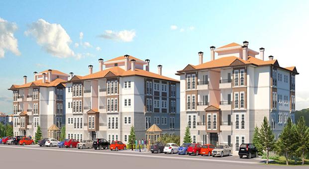 Edirne'de inşa edilecek 137 konutun ihalesi yapıldı