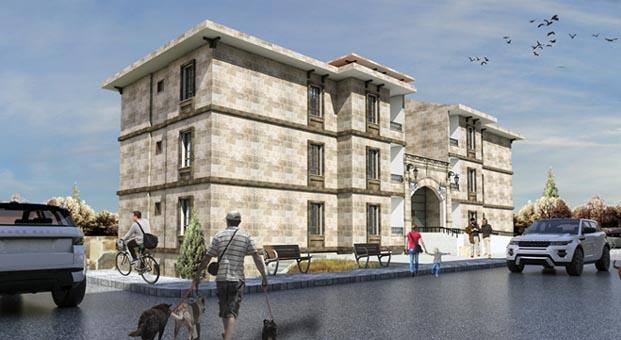 Nevşehir Avanos'a TOKİ'den yöresel mimaride 324 konut