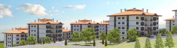 TOKİ'den Kırşehir Kaman'a 224 konut