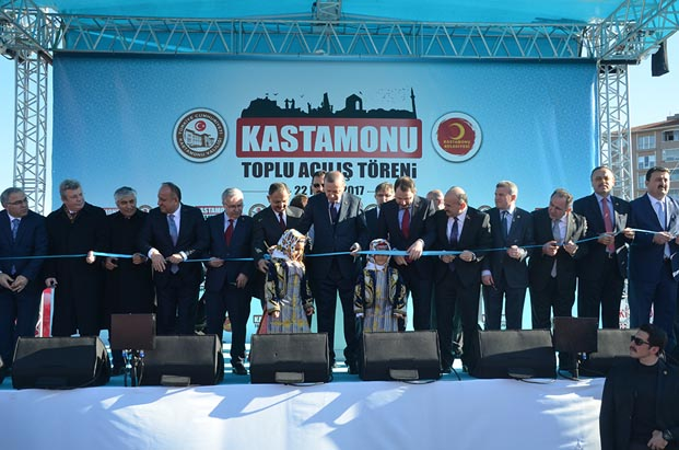 TOKİ' den Kastamonu'ya 316 milyon TL yatırım