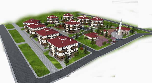 Afyonkarahisar Dazkırı'na inşa edilecek 142 konutun ihalesi yapıldı