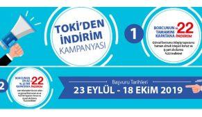 TOKİ'nin indirim kampanyası 23 Eylül'de başlıyor