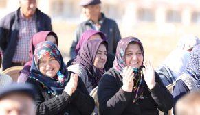 Afyonkarahisar Ahmetpaşa'da kura sevinci