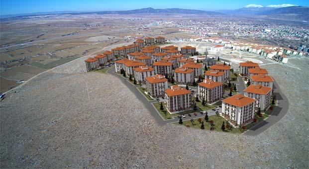 Afyonkarahisar Dinar'da 60 konuta 265 başvuru yapıldı