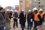 TOKİ Başkanı Ergün Turan, Erzurum'da incelemelerde bulundu