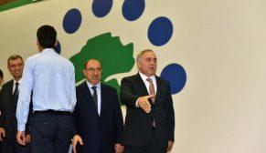 Başkan Ergün Turan, TOKİ çalışanları ile bayramlaştı