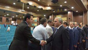 TOKİ Başkanı Ergün Turan, idare çalışanları ile bayramlaştı