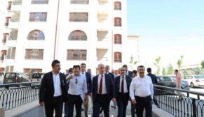TOKİ Başkanı Bulut, Ankara şantiyelerini inceledi