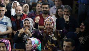 TOKİ Çorum Osmancık'ta 357 konutun hak sahiplerini kurayla belirledi