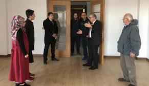 TOKİ Başkanı Turan KuzeyKent Projesi'nde örnek daireyi inceledi