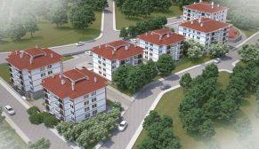 Erzincan Kemah'a TOKİ'den yöresel mimaride 94 konut