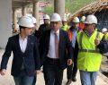 TOKİ Başkanı Ergün Turan, Giresun'da incelemelerde bulundu