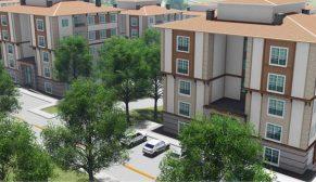 TOKİ Karabük'te yeni bir mahalle inşa ediyor