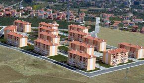 TOKİ, Isparta Keçiborlu'ya 469 konut yapacak