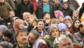 Kayseri'de TOKİ kura sevinci