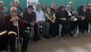 Kırşehir Akpınar'da 141 hak sahibinin konutları kurayla belirlendi