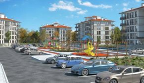 TOKİ'den Kırşehir'e yatay mimarili konutlar