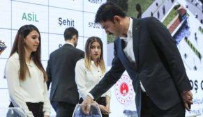 Konya'da kura töreni yapıldı