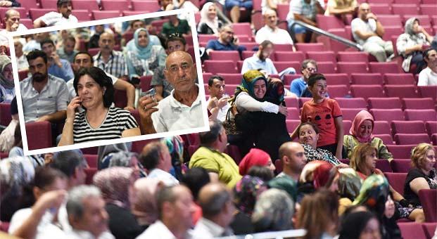 İstanbul Silivri TOKİ kurasında sevinç ve gözyaşı bir arada