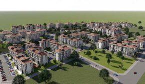 TOKİ'den Kütahya'ya yatay mimarili konutlar
