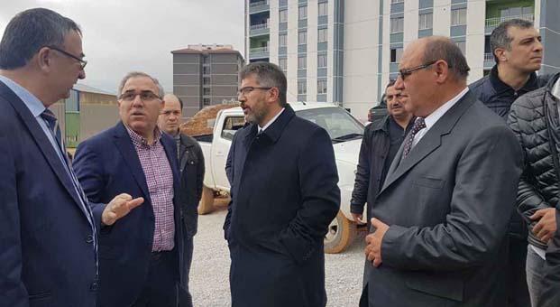 TOKİ Başkanı Ergün Turan, Muğla ve İzmir'de incelemelerde bulundu