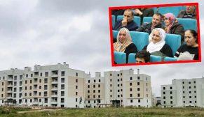 Tuzla projesinde hak sahiplerinin konutları belirlendi