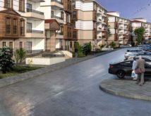 Zonguldak'a yatay mimarili konutlar