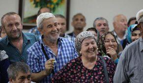 Devrek Çaydeğirmeni'nde 316 hak sahibinin konutları kurayla belirlendi