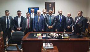 İstanbul Maden İhracatçıları Birliği yeni yönetim kurulu Ankara'da önemli ziyaretlerde bulundu
