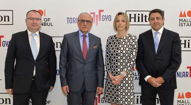 Torunlar GYO otel yatırımlarına Hilton markası ile Mall of İstanbul'dan başlıyor