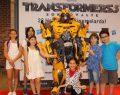 Emaar Square Mall'da Transformers rüzgarı esti